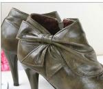 PRE-ORDER:   Bowknot Zipper Boots